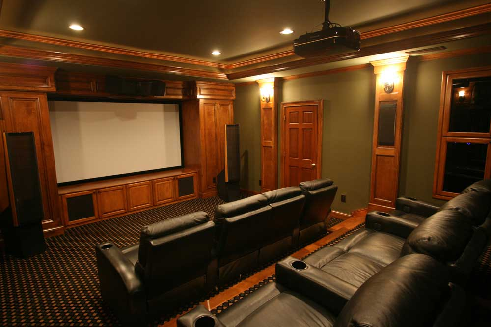 basement movie theater no more boring basement keystone remodeling